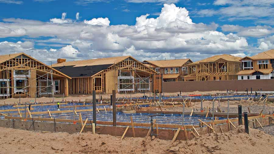 Building a portfolio around residential construction trends for New home construction trends